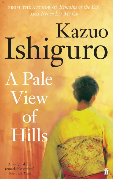 A Pale View of Hills Book Cover