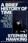 A Brief History of Time Book Cover