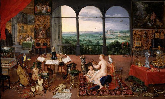 Alegorical Art Hearing