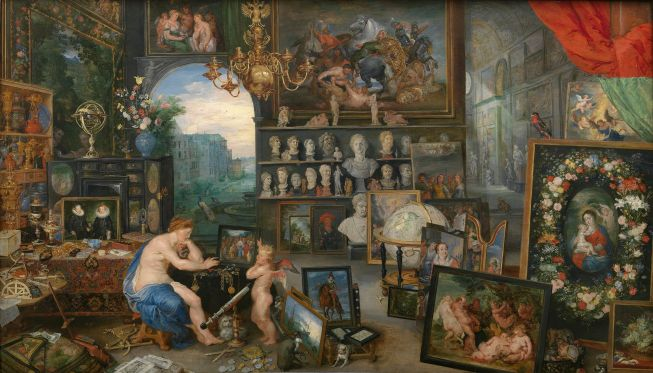 Sight Allegorical Painting