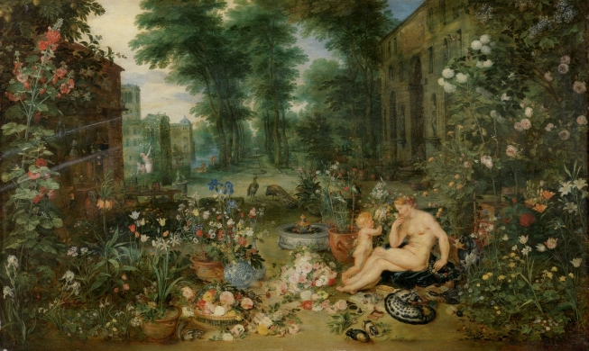 Smell Allegorical Painting