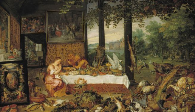 Taste Allegorical Painting