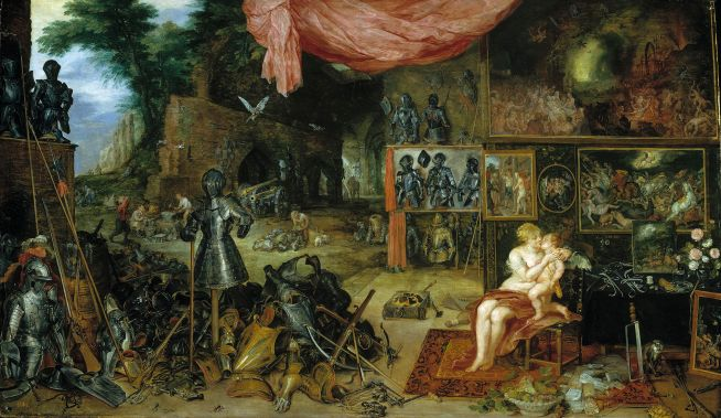 Touch Allegorical Painting