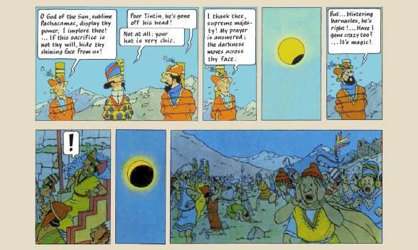 Tin Tin Comics El Templo del Sol2