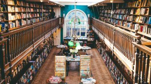 Daunt Bookshop London