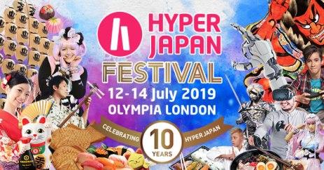 Hyper Japan Festival 2019 Poster