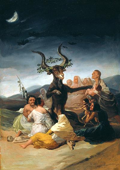 Witches Sabbath Goya