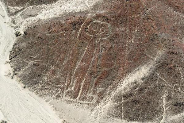 Astronaut Nazca Lines