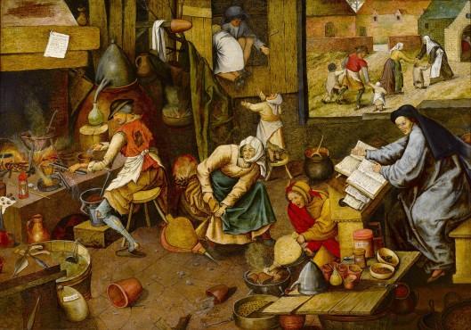 the alchemist pieter brueghel