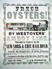 fresh oysters poster