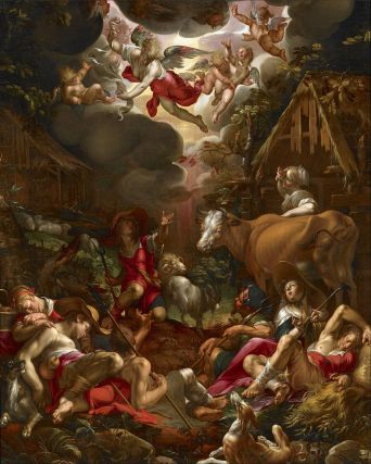 Joachim_Wtewael_-_Annunciation_to_the_Shepherds_-_Google_Art_Project